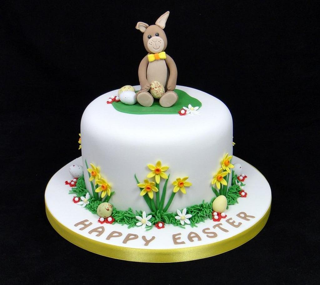 Easter Bunny Cake by Ceri Badham