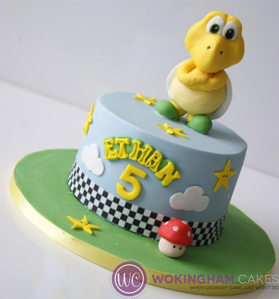 Koopa Troopa Cake by Fiso