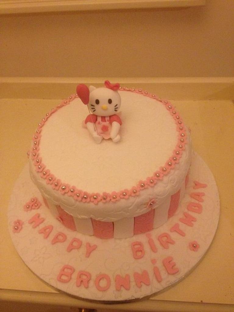 Hello Kitty  by icedtouchcakes
