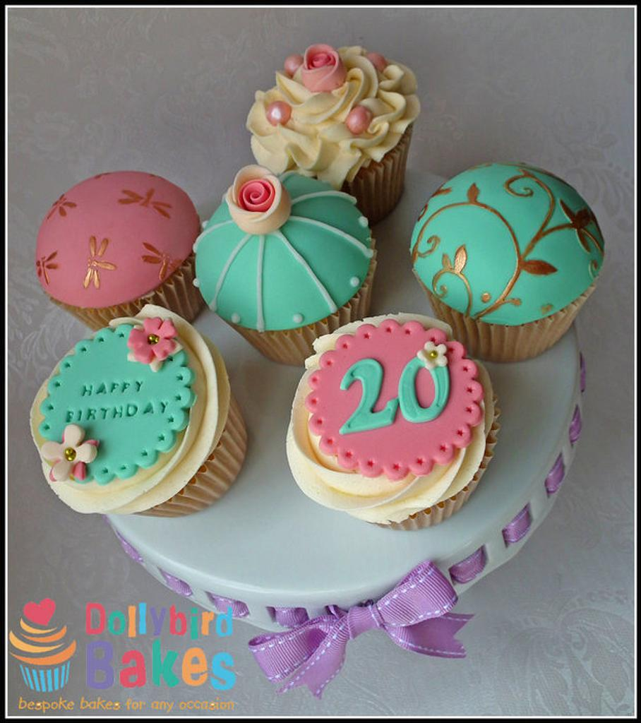 Vintage Cupcakes by Dollybird Bakes
