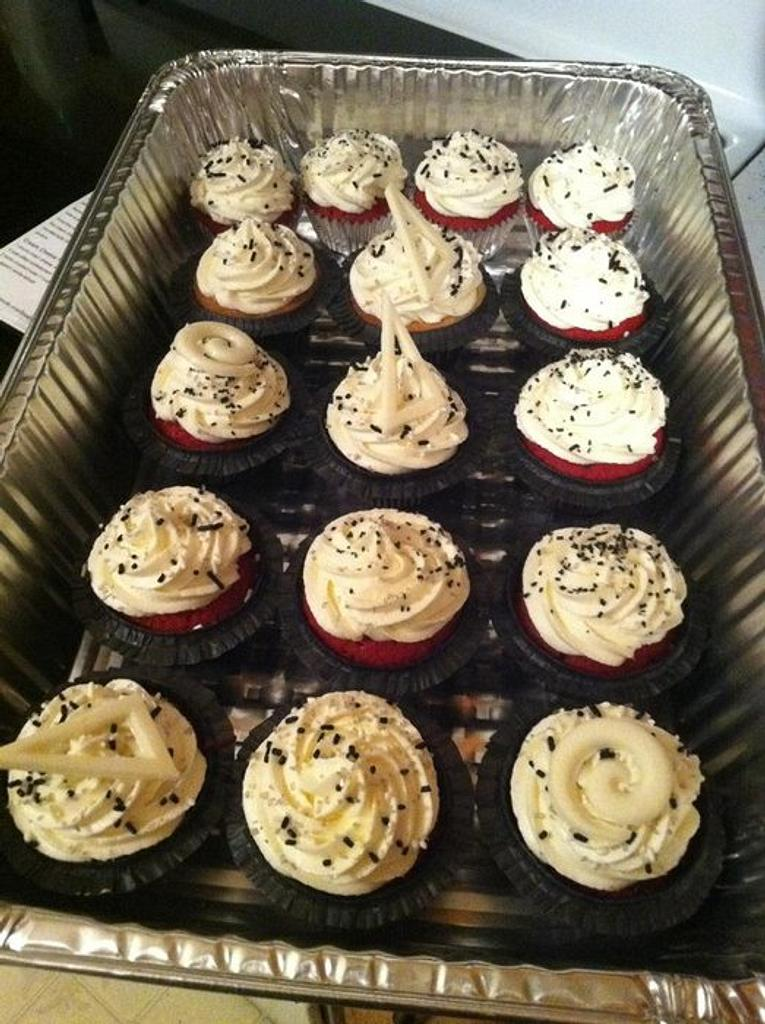 Red Velvet Cupcakes by Shameless Sweets by Sarah