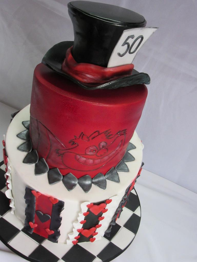 Topsey 50th  by Sugarart Cakes