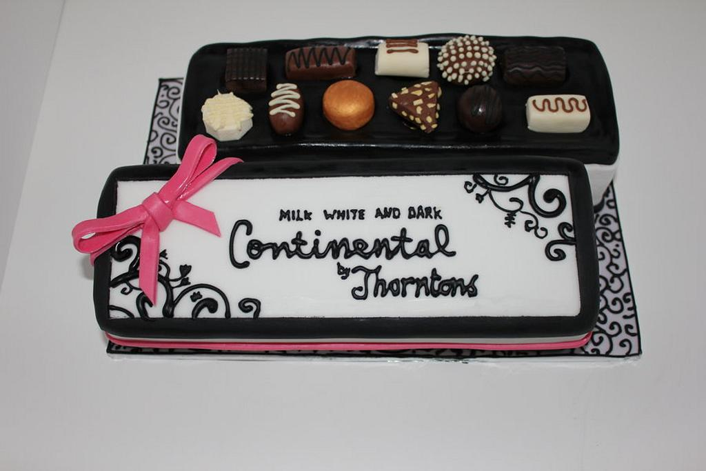 A Box Of Thorntons Birthday Cake!! :-) by Paul James