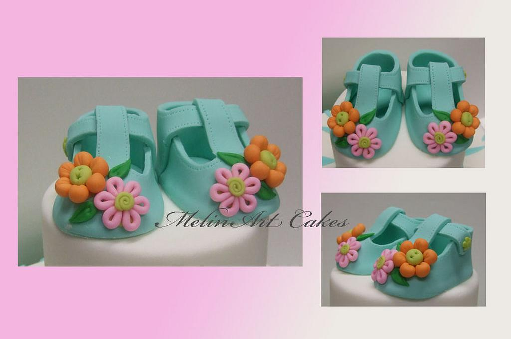 Baby shoes by MelinArt