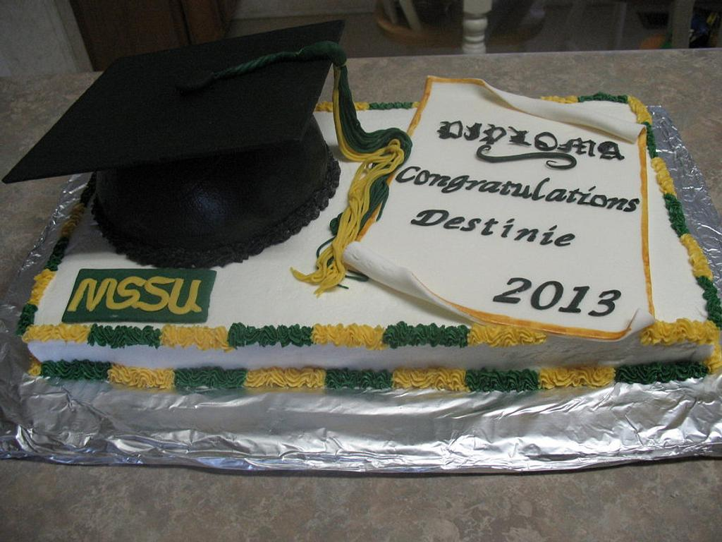 Graduation cake by cher45
