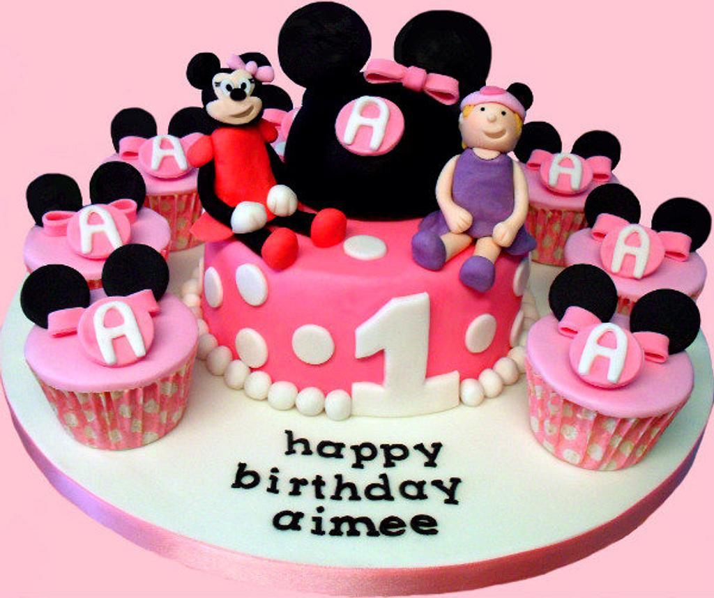 Aimee's Minnie Mouse 1st Birthday by Jennifer
