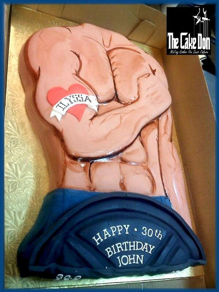 The GYM,TAN,LAUNDRY Cake.... by TheCakeDon