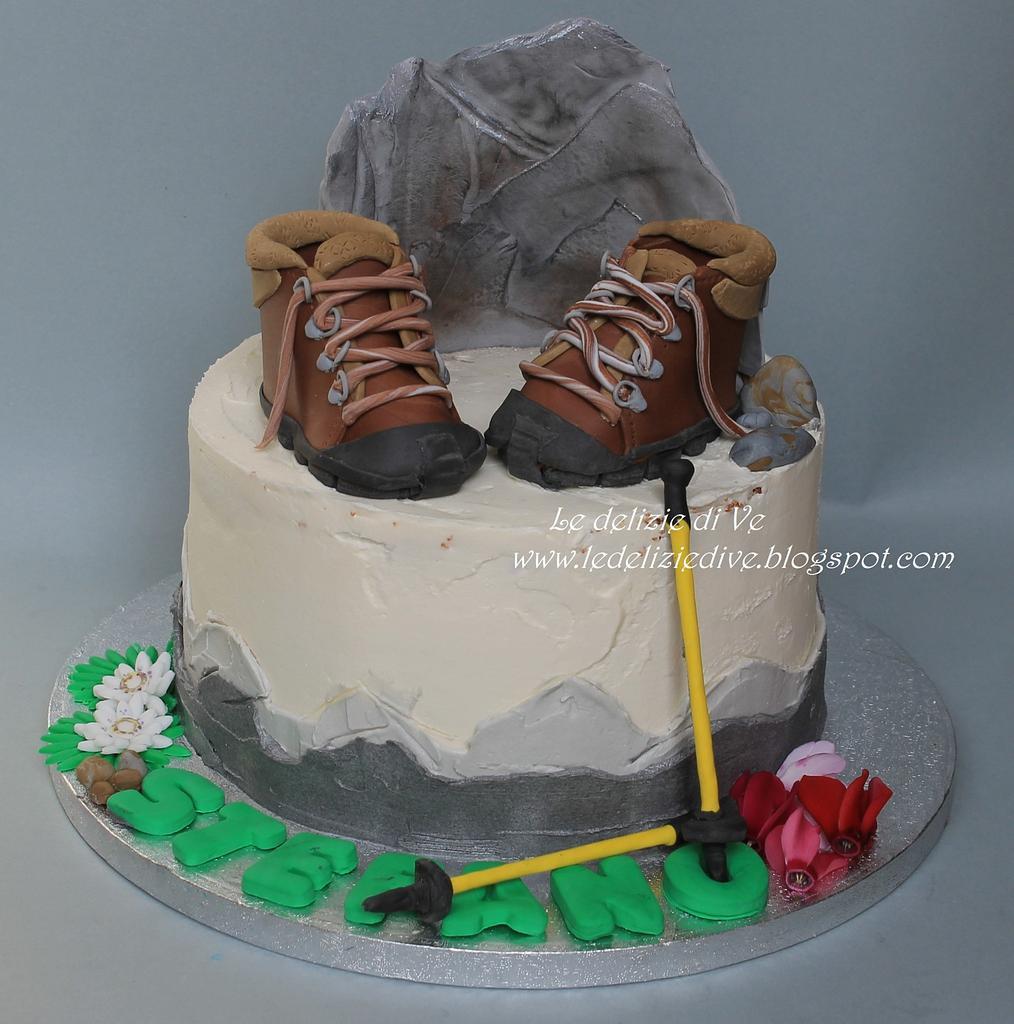 Trekking cake by le delizie di ve