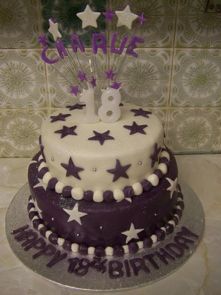 star cake by cupcakes of salisbury