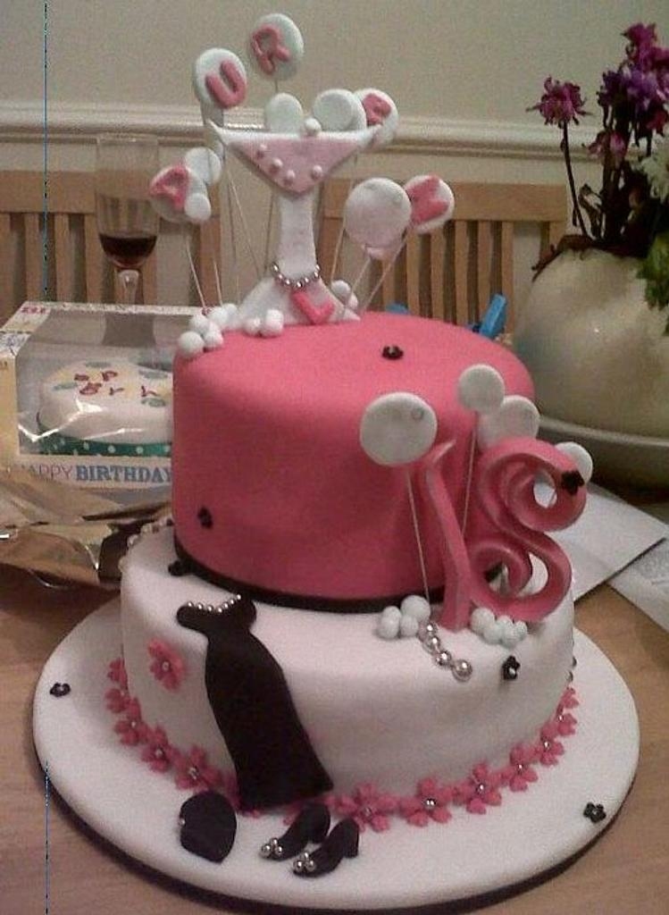 18 th Birthday by PetiteSweet-Cake Boutique
