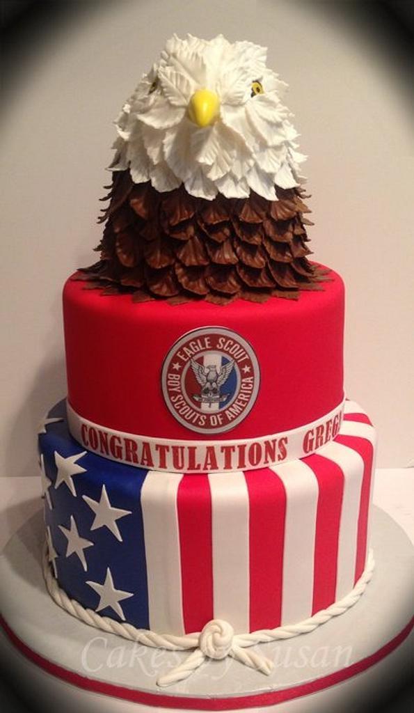 Boy Scout cake by Skmaestas