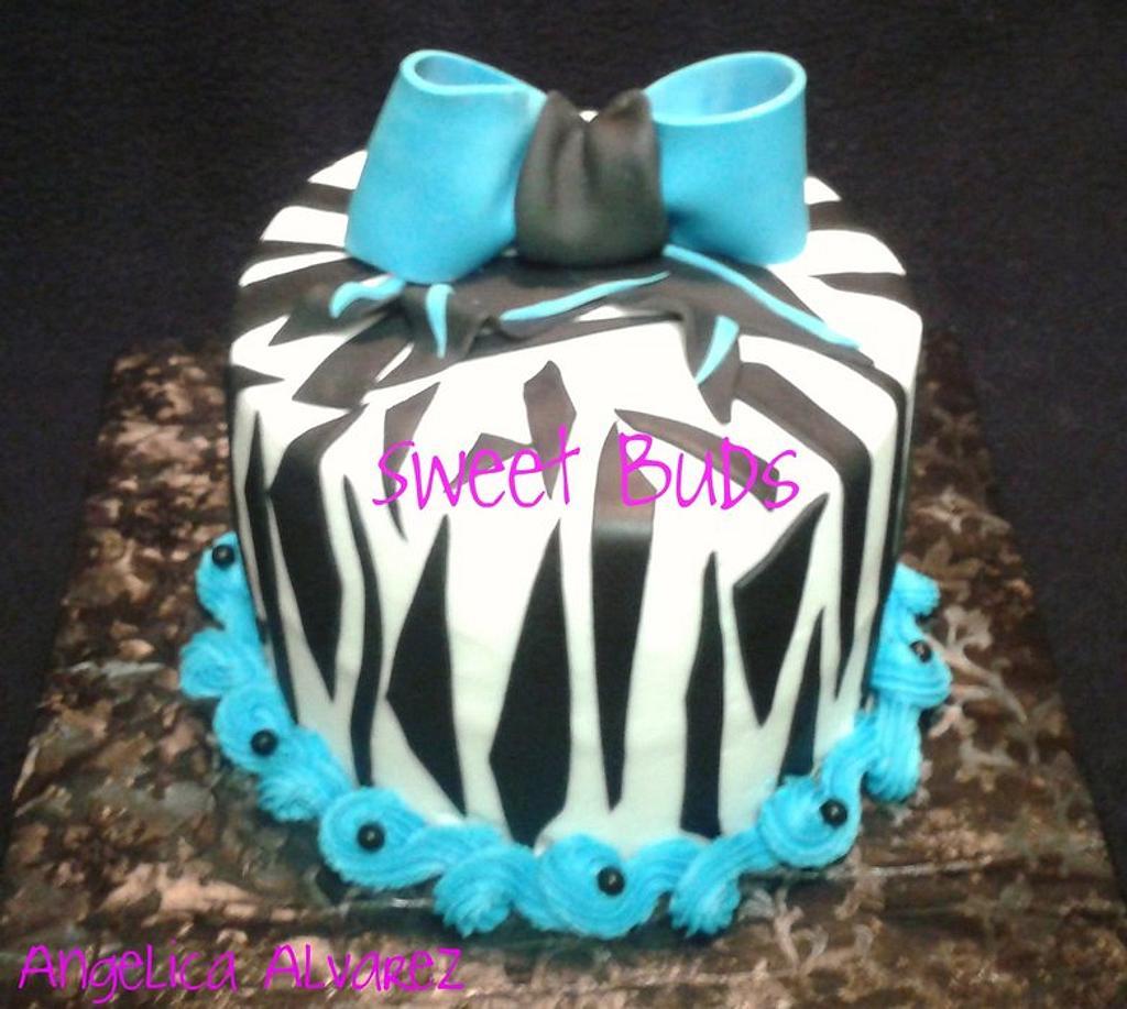 Zebra by Angelica