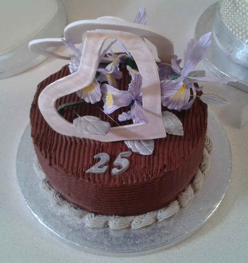 25th Anniversary cake by David Mason