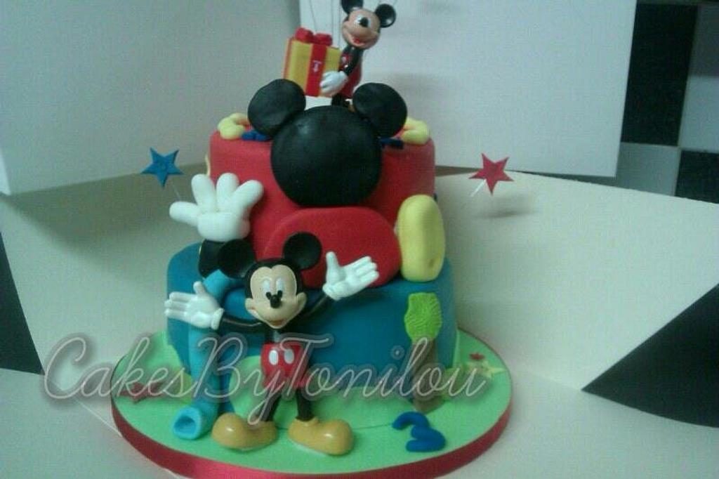 Disney playhouse cake by CakesByTonilou