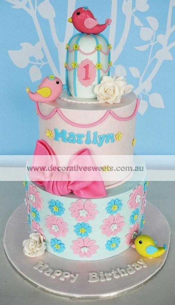 Marilyn's 1st Birthday  by Decorative Sweets