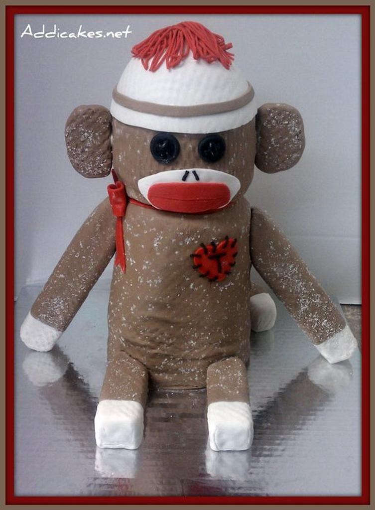 Sock Monkey by Jason Schadewalt