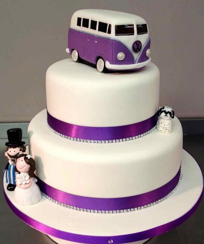 VW Campervan Wedding by Symphony in Sugar