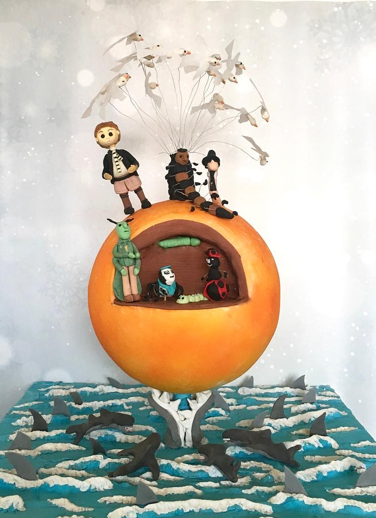 James And The Giant Peach by Bake N Frost