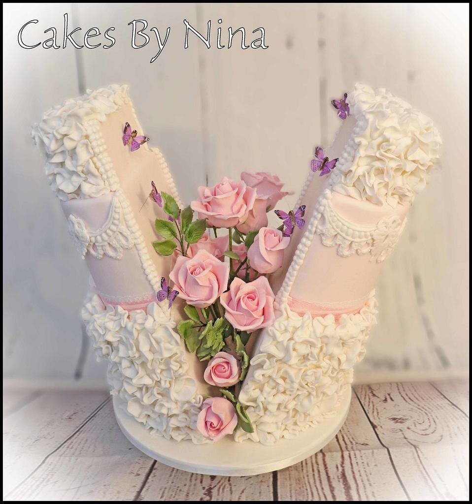 Rose Explosion by Cakes by Nina Camberley