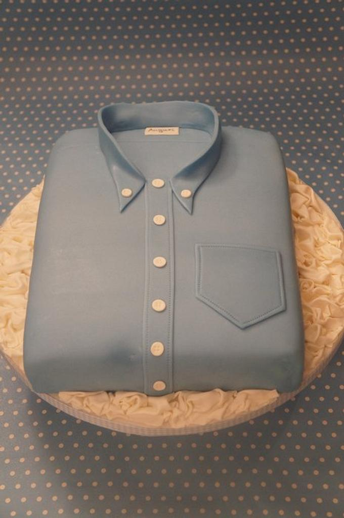 jeans shirt cake by Alessandra