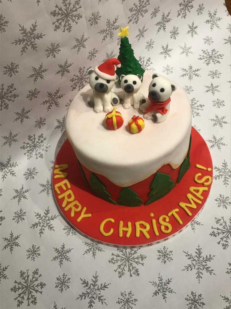 Christmas cake by Ilona