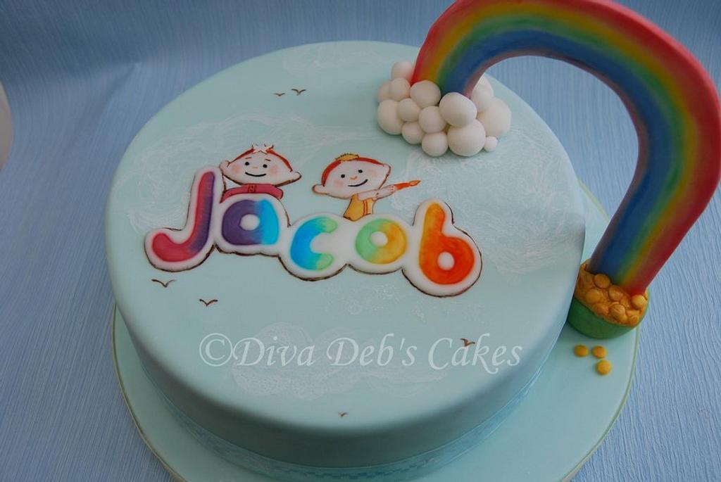 Cloud Babies First Birthday by Deborah Roberts