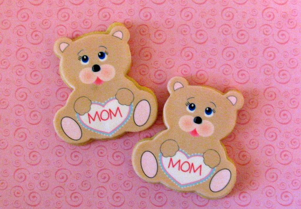 Teddy Bear Cookies by Cheryl
