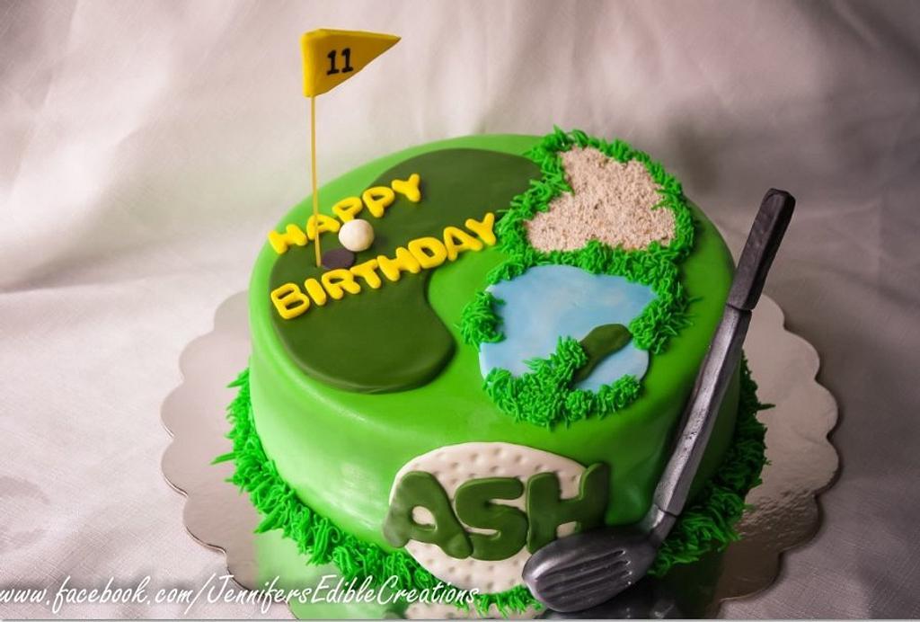 Golf Cake by Jennifer's Edible Creations