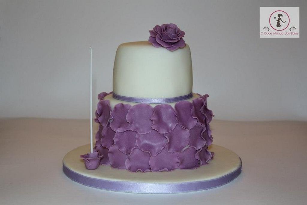 Purple Rose by Catarina Amaral