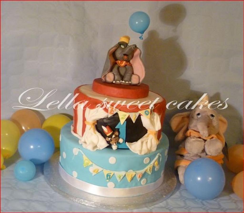 Dumbo cake by LellaSweetCakes