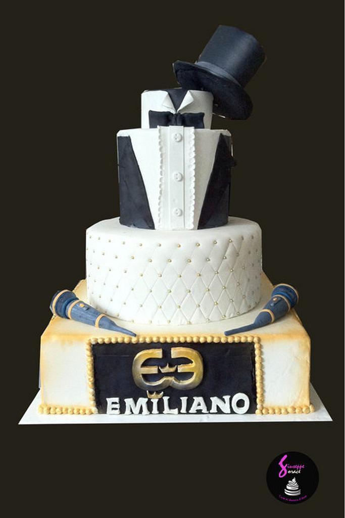 torta per emiliano event by giuseppe sorace