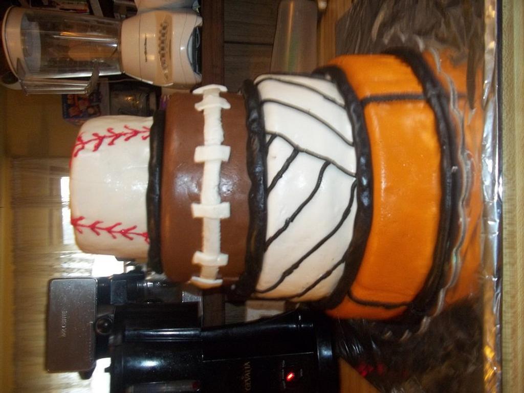 Sport cake by Cindy White