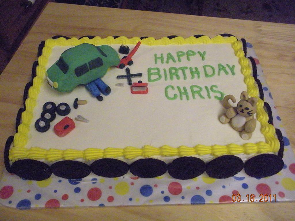Mechanics cake by Kimberly