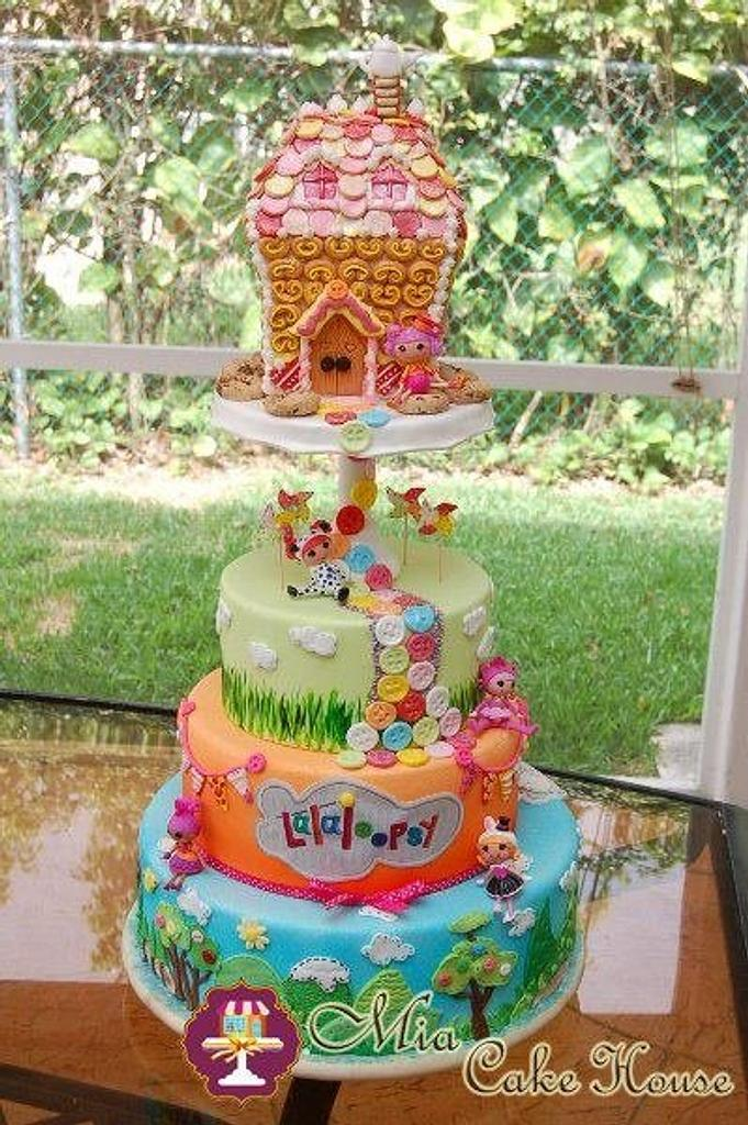 Lalaloopsy's house cake by Sheila