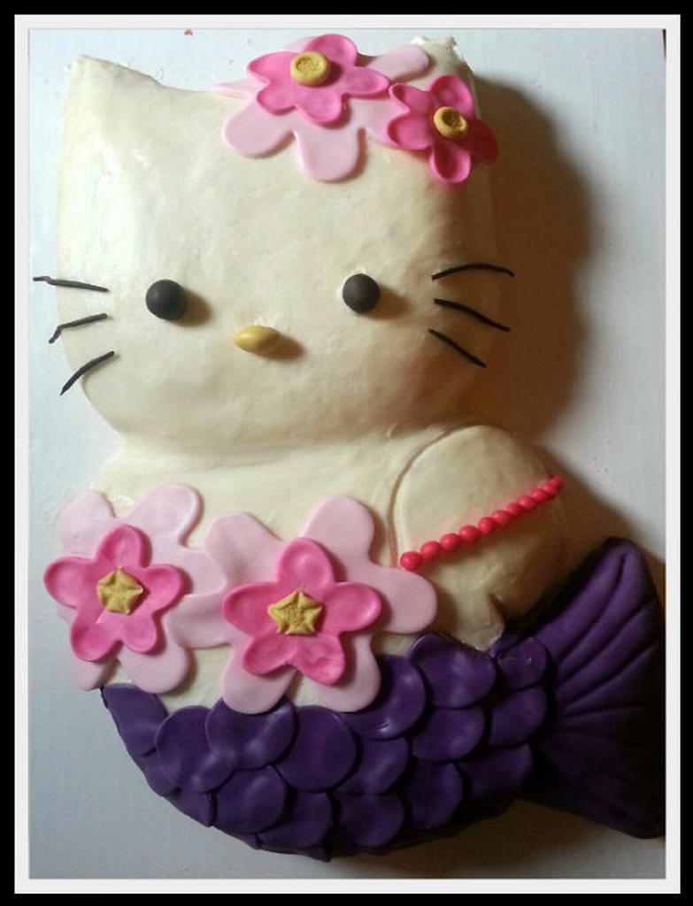 Hello Kitty Mermaid by Jest Desserts