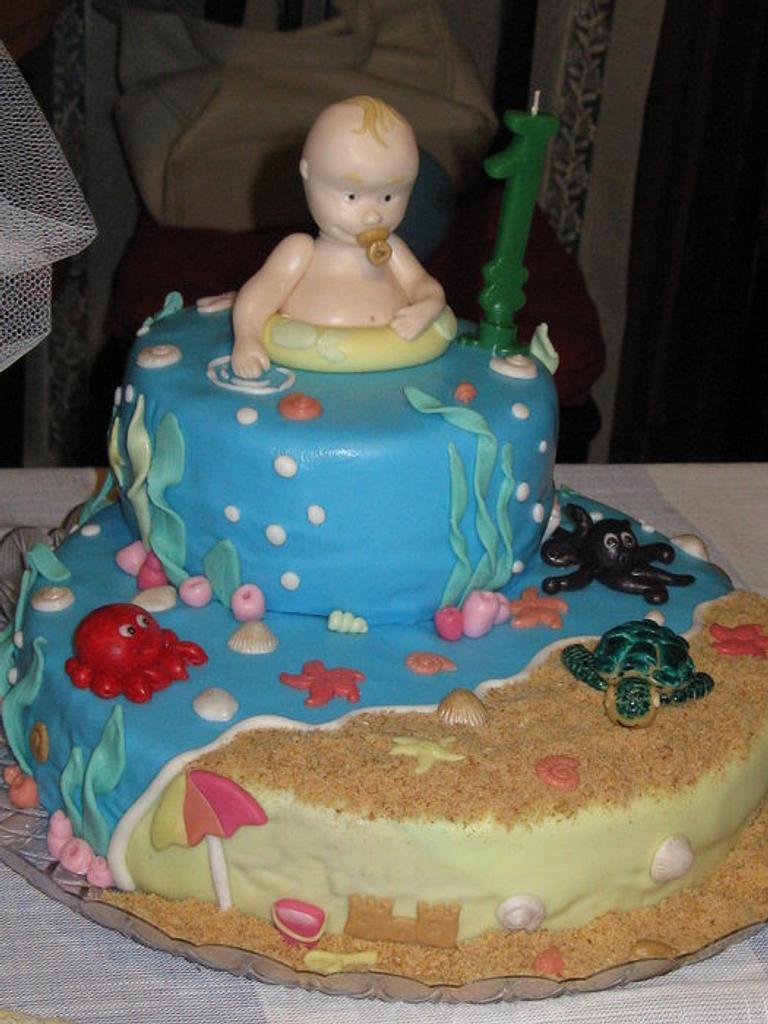 first birthday Alex by Nicoletta Celenta
