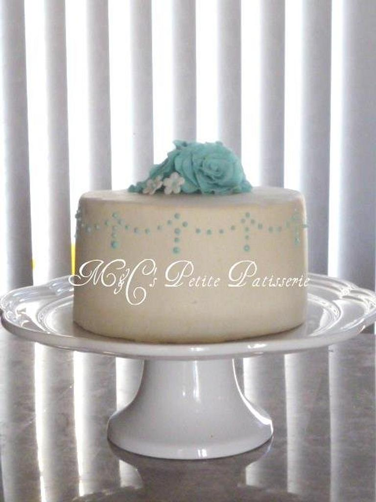 Special cake for special girl  by M&C's Petite Pâtisserie