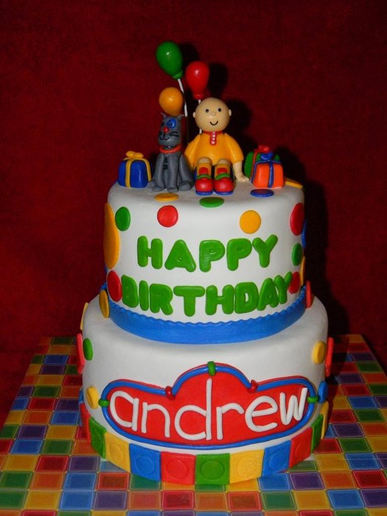 Caillou Cake! by Traci