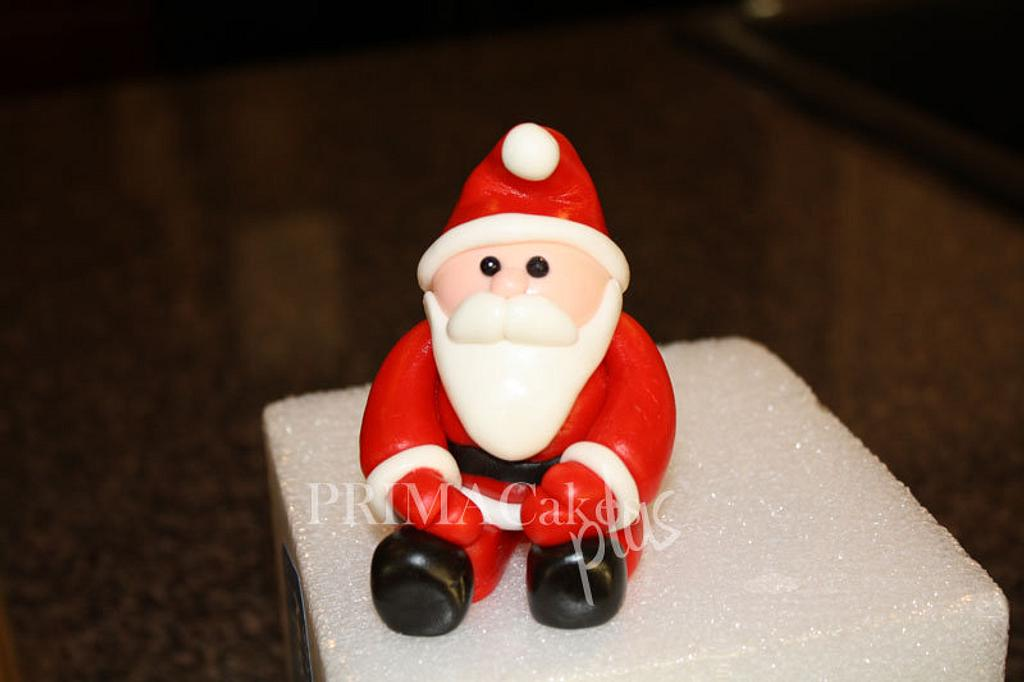 Santa Topper by Prima Cakes and Cookies - Jennifer