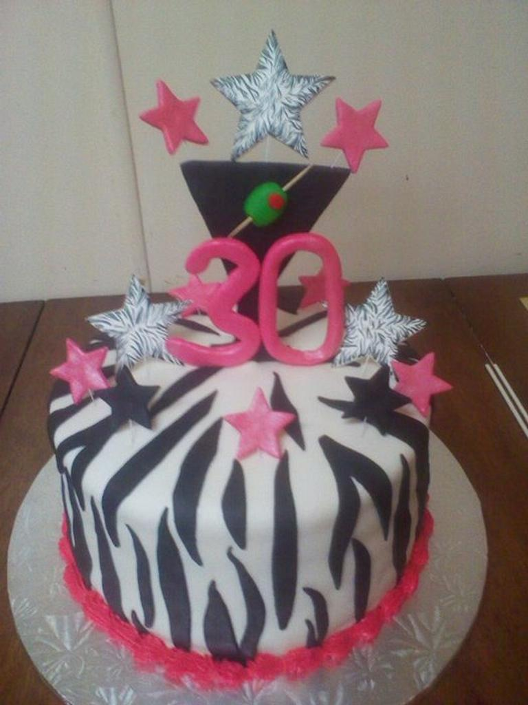 30th B-Day cake  by CC's Creative Cakes and more...