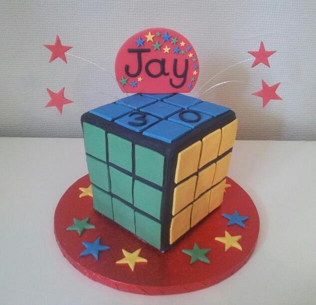 Rubik's Cube by The Custom Cakery