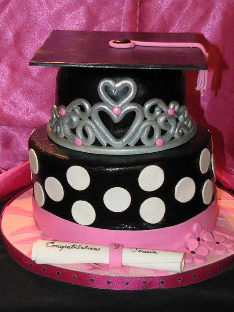 Princess Graduation Cake by Lani Paggioli