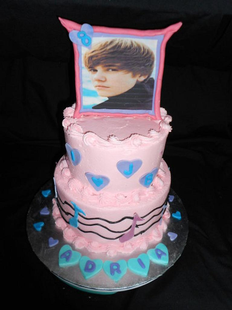 Another Justin Beiber Cake... by caymancake