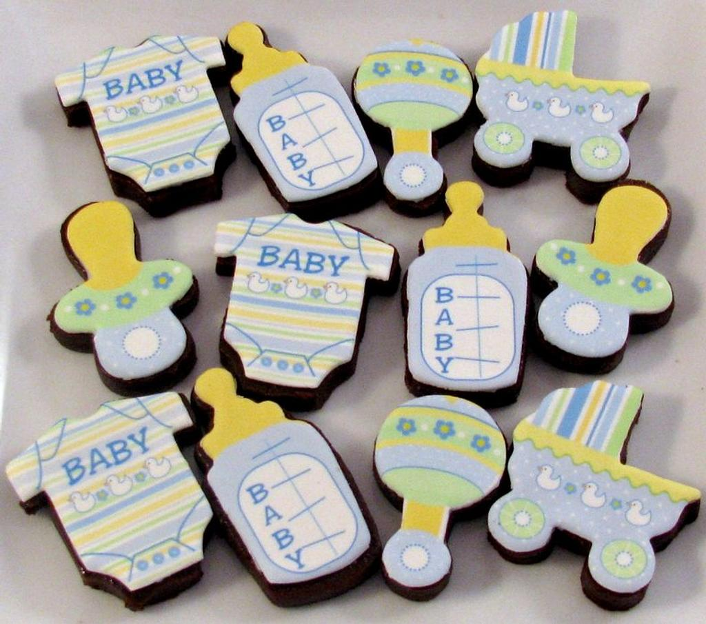 Mini Baby Brownie Bites by Cheryl