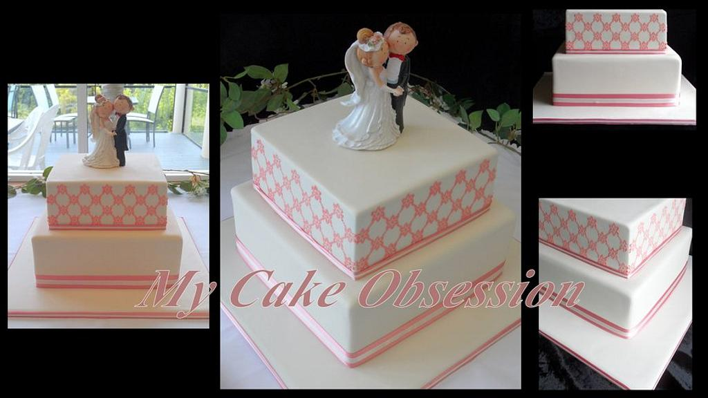 Janette's Wedding Cake by My Cake Obsession