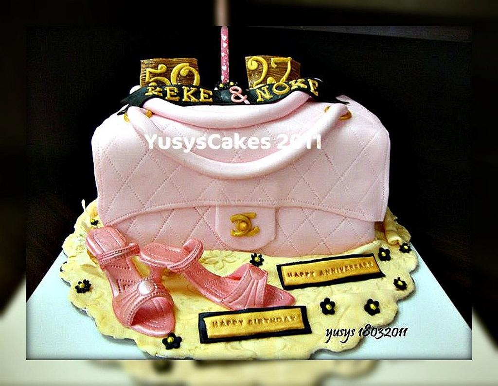 Chanel Bag Cake by Yusy Sriwindawati