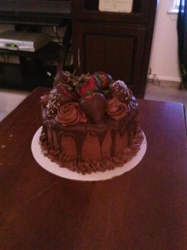 A very chocolate Father's Day by Sharon Cooper