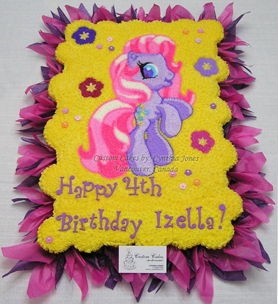 Cake for Izella last year ... by Cynthia Jones