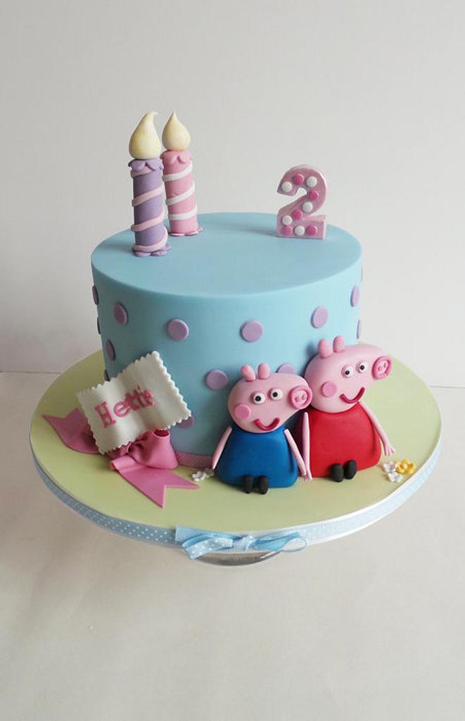 Peppa Pig Cake by Helen Ward