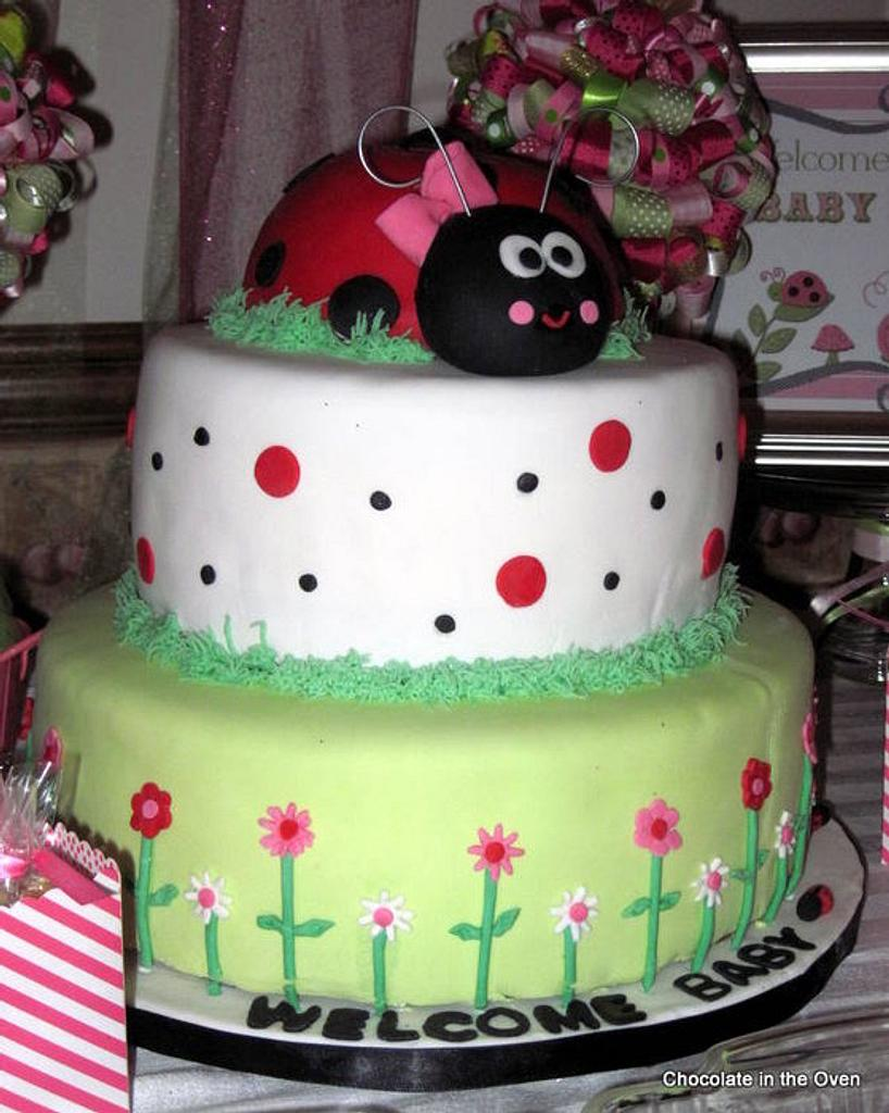 Lady Bug Baby Shower by Cathy